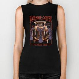 Worship Coffee Biker Tank
