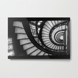Rookery Staircase Metal Print