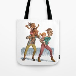 Hipster Dads Tote Bag