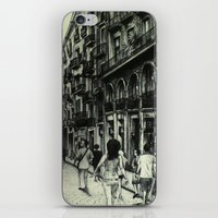 barcelona iPhone & iPod Skins featuring Barcelona by Lamb