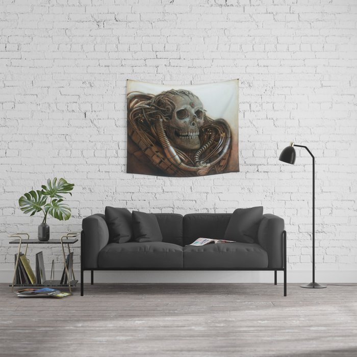 The Timetraveller II Wall Tapestry