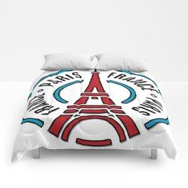 Paris, France Comforters