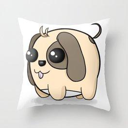 Smoll Puppy Throw Pillow