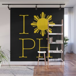 I Love Philippines Wall Mural
