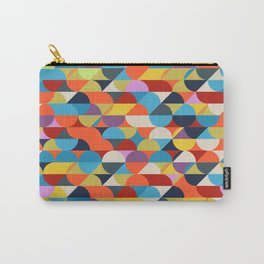 Simple Circle Pattern. Carry-All Pouch