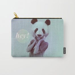 Hey! It's a Panda's Head! Carry-All Pouch