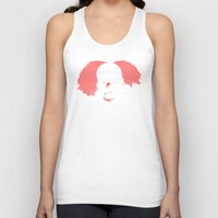 pennywise Tank Tops featuring IT by PsychoBudgie