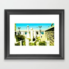 A very sacred place. Framed Art Print