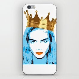 caradelvigne iPhone Skin