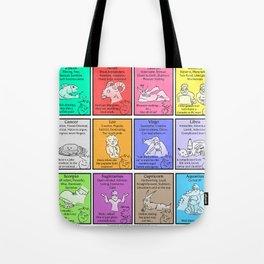 Zodiac (Awkward IRL #9) Tote Bag