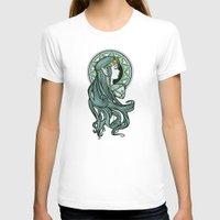 hallion T-shirts featuring Zelda Nouveau by Karen Hallion Illustrations