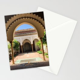 Alcazaba Arches Malaga Stationery Cards