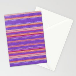 Baroque Purple Stationery Cards