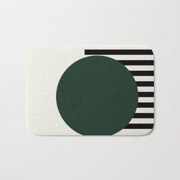 Green with stripes    Bath Mat