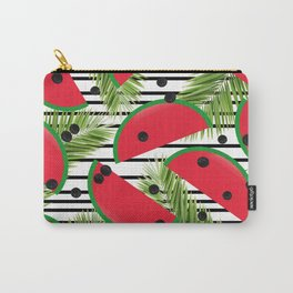 Tropical Watermelons Carry-All Pouch