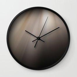 Divine Streaks Of Light Through The Darkness Wall Clock