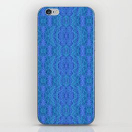 Blue Voile iPhone Skin