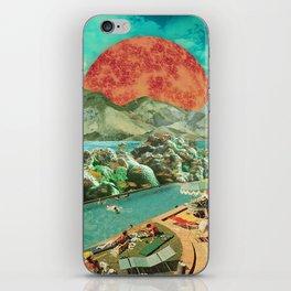 The aquarium pool iPhone Skin