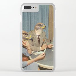 Too Late Mr. Hudson Clear iPhone Case