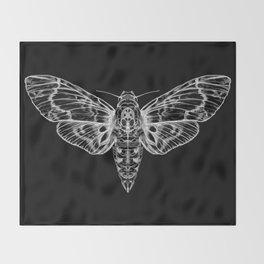 The Moth Throw Blanket