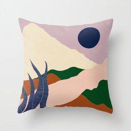 Intangible Land II Throw Pillow