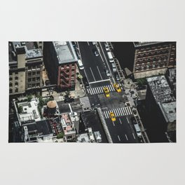 Little Yellow Cabs Rug