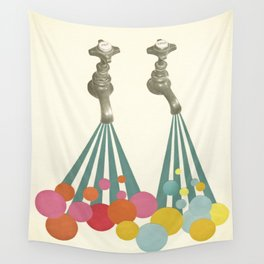Soapsuds Wall Tapestry