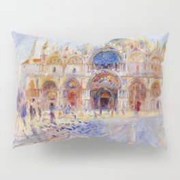 "Auguste Renoir ""The Piazza San Marco, Venice"" Pillow Sham"