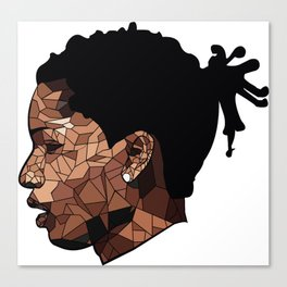 Asap rocky edit  Canvas Print