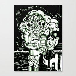 Swears Canvas Print