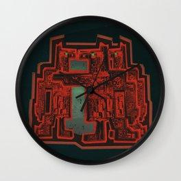 Three's a Crowd Wall Clock
