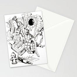 Collage of Thoughts Stationery Cards