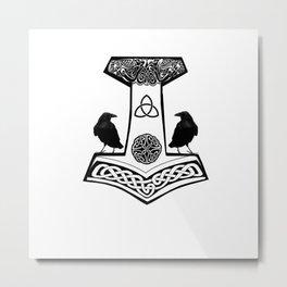 Mjolnir - Thor's hammer Metal Print