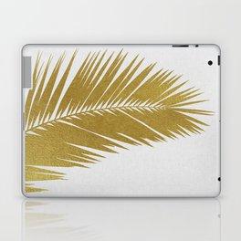 Palm Leaf Gold I Laptop & iPad Skin