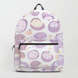 Happy Hedgies - Kawaii Hedgehog Doodle Backpack