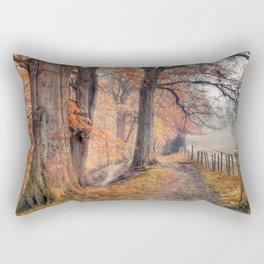 Ousbrough Woods(Textured) Rectangular Pillow