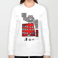fibonacci Long Sleeve T-shirts featuring FIBONACCI  by PlanetLOUDville