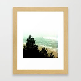 watercolor photograph Framed Art Print