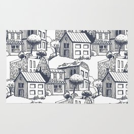 City pattern Rug