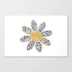 Mosaic Flower 002 Canvas Print