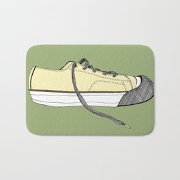 Sneaker in profile Bath Mat