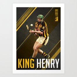 GAA Posters – Henry Shefflin Art Print