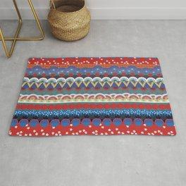 Japanese Tribal Design Rug