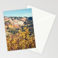 Fall in the Mountains  Stationery Cards