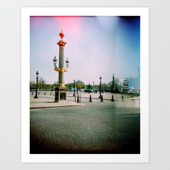 Place de la Concorde, Paris Art Print