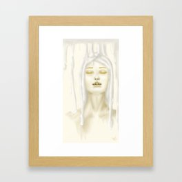 Je suis: Honey & Milk Framed Art Print