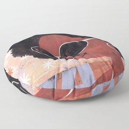 Afro 74 Floor Pillow