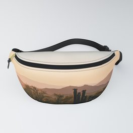 Prickly Pear Sunset / Arizona Fanny Pack