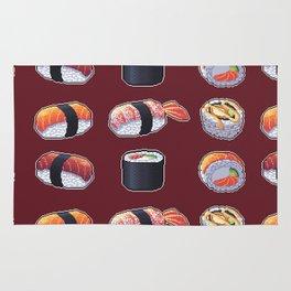 Sushi Pixel Art Rug