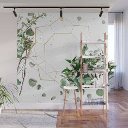 Modern Botanical (Color) Wall Mural